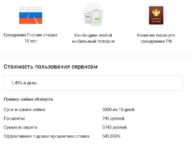государственный кредит бк рф